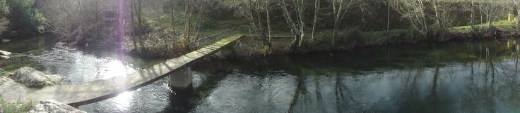 Río Mouro, afluente del Miño