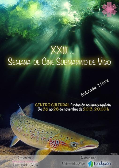 Cartel XXIII Semana de Cine Submarino