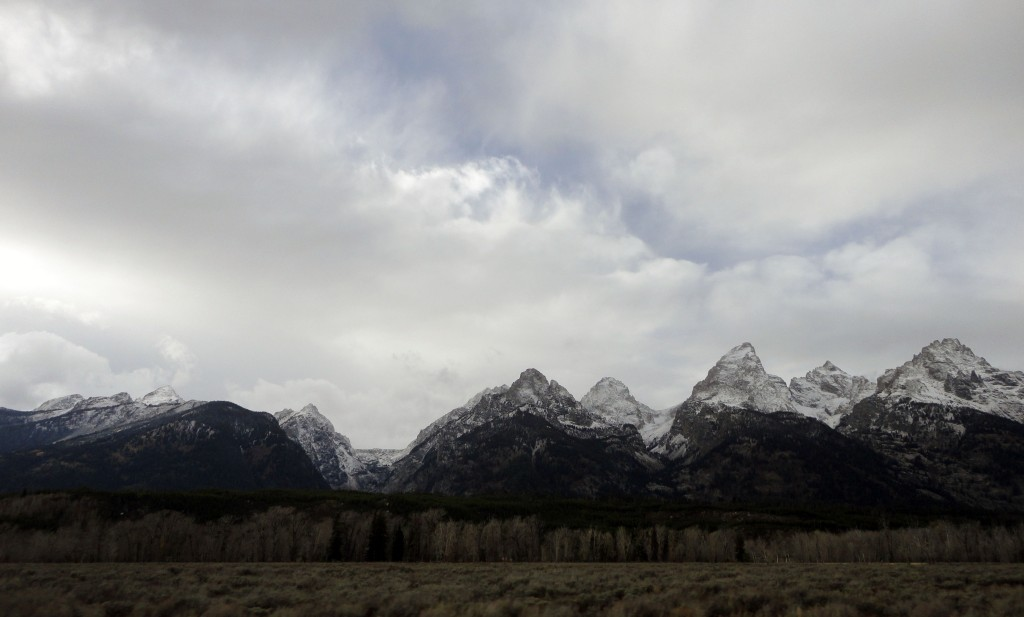 Cordón montañoso en Grand Teton National Park