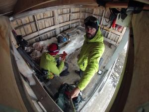 Campamaneto improvisado en el Parque nacional Dovrefjell-Sunndalsfjella (foto: G. Mucientes, BEC)