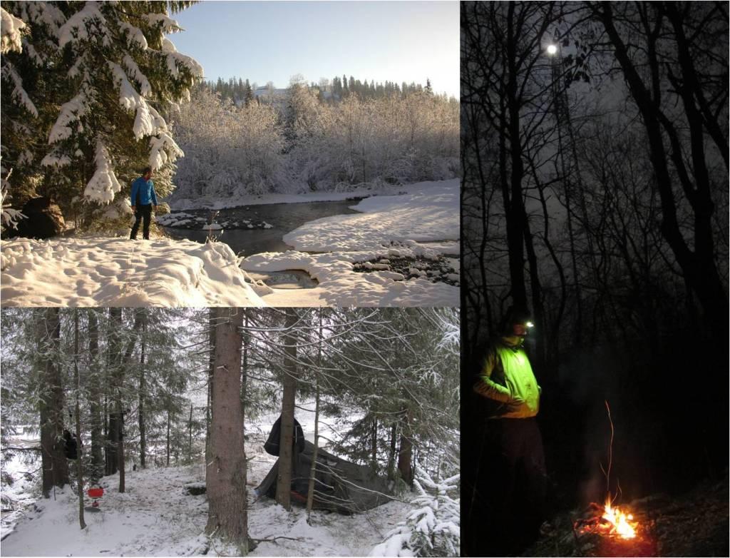 Campamentos en los Tatras (fotos: J.J. Santos; G. Mucientes / BEC)