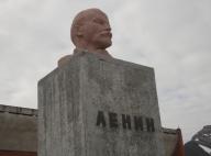 El busto de Lenin situado más al norte del planeta. Fotos: Alba Aguión.